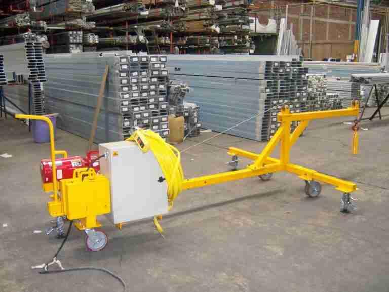 Diseño especial elevación de carga
